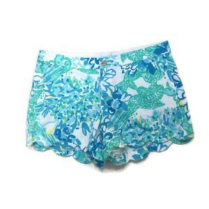 LILLY PULITZER Buttercup shorts In a Pinch- NWT!